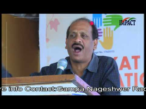 Education|Dileep Reddy|TELUGU IMPACT Karimnagar 2016