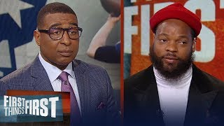 Michael Bennett talks Patriots and Belichick & Steelers 'cleaning house' | NFL | FIRST THINGS FIRST