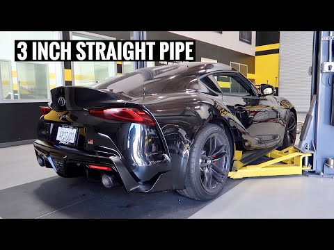 Loudest 2020 Supra In The World Has Magnaflow Exhaust
