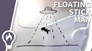 Floating... Stickman?