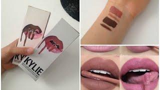 EBAY Fake Kylie Lip Kit Vs Real Aliexpress