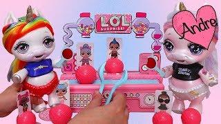 Gambar cover Bebes Unicornio juegan juego de mesa | Muñecas y juguetes con Andre para niñas y niños