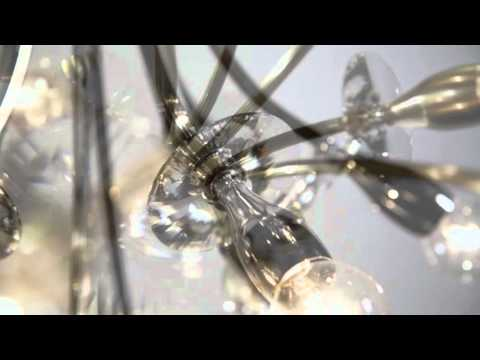 Video for Alexandria Aged Brass Six-Light Wall Sconce