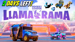 How To Claim FREE Llama Rama Rocket League REWARDS in Fortnite!