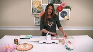 Sizzix Big Shot Die Cutting Machine Demo
