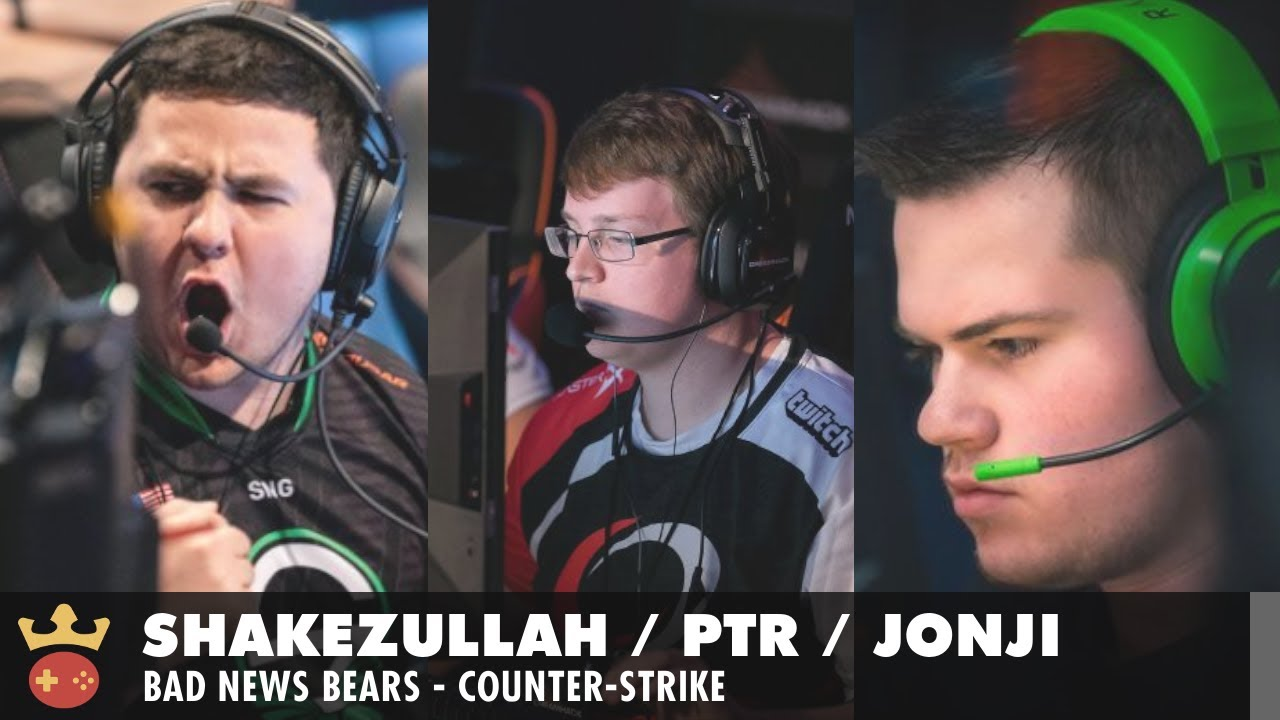 Video of Interview with Shakezullah, ptr, and Jonji from Bad News Bears at IEM Cologne 2021