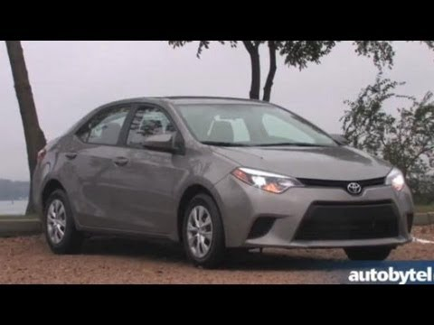 2014 Toyota Corolla S First Drive & Walkaround Video Review