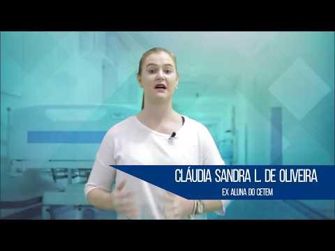 CETEM - Depoimento da aluna Claudia