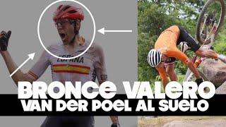 Medalla Bronce DAVID VALERO y caída VAN DER POEL | Juegos Olímpicos Ciclismo