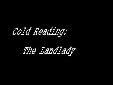 Cold Reading: The Landlady