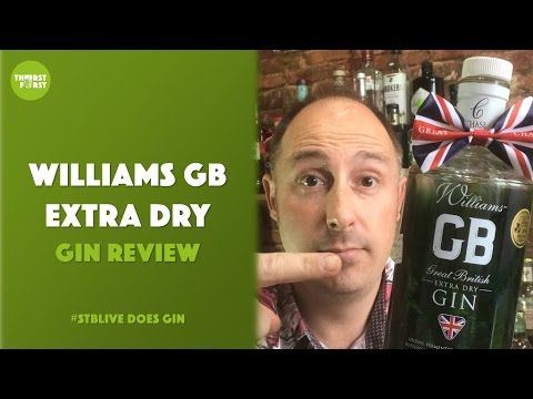 WILLIAMS GB EXTRA DRY Gin and Tonic Review (by Steve the Barman)