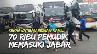 Kekhawatiran Ridwan Kamil, 70 Ribu Pemudik Memasuki Jawa Barat
