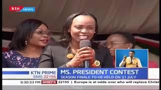 President Kenyatta has endorsed Ms.Predident show