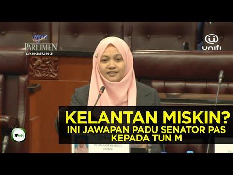 Tun M Tuduh Kelantan Miskin? Ini Jawapan Senator PAS