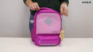 """Рюкзак детский Kite Studio Pets SP19-559XS ( 3-5 лет) от компании Интернет-магазин """"Радуга"""" - школьные рюкзаки, канцтовары, творчество - видео"""