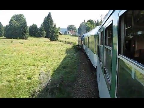 Download Czech Republic: *rare* Unsilenced Class 749 fails working Volary-Nove Udoli, Sumava National Park Mp4 HD Video and MP3