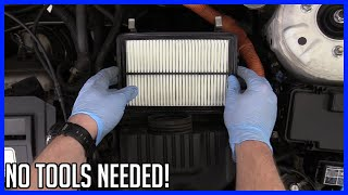 Replace Air Filter Honda Civic HYBRID