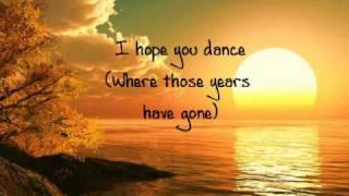 I hope you dance lyrics Lee Ann Womack