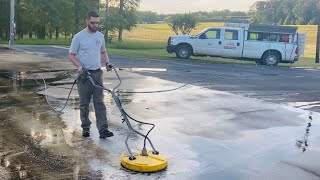 How to clean a driveway. Start to finish