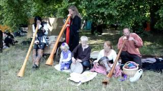 preview picture of video 'Spectaculum Worms 2014 - Die Klänge der Didgeridoos'