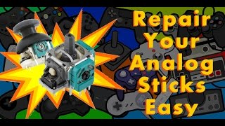 How To Repair Your Analog Sticks Easily
