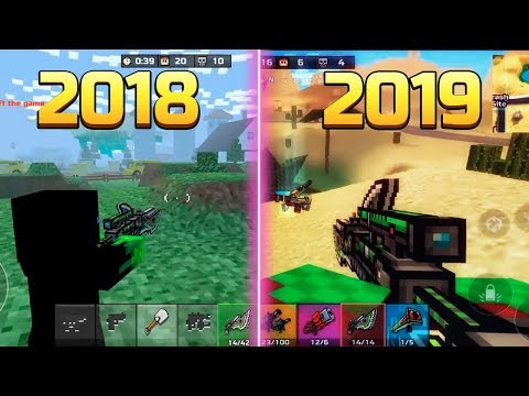 Pixel Gun 3D - Battle Royale Evolution 2018-2019