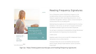 Reading Frequency Signatures