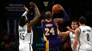 Kobe Bryant CATCHING BODIES in His 17th Season!! 2012-2013 Lakers