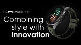 YouTube Video DmF36xKD11Q for Product Huawei Watch GT 2e by Company Huawei Technologies in Industry Smartwatches