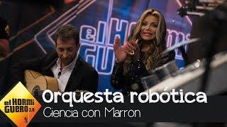 Pablo Motos Interpreta 'Billie Jean' Con La Orquesta Robótica De Marron  - El Hormiguero 3.0