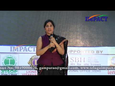 Work| Padma Pothukuchi|TELUGU IMPACT Vizag 2015