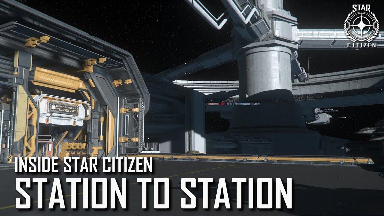 Inside Star Citizen: Station to Station | 3.5 Ep. 8