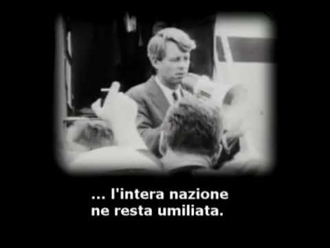 Robert Kennedy: discorso sulla violenza