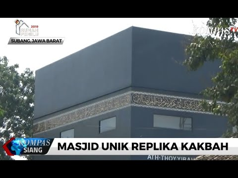 Masjid Unik Replika Kakbah
