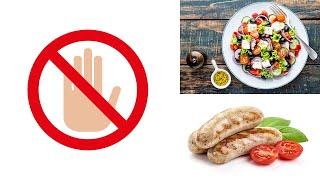 10 Lebensmittel, die Du niemals essen solltest!