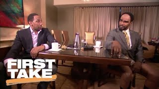 Cleveland A. Smith (Jamie Foxx) opens First Take with Stephen A. Smith | First Take | ESPN