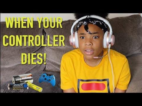 WHEN YOUR GAME CONTROLLER STOP WORKING! ( FUNNY KID SKIT)