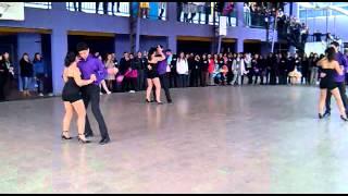 Estudio Blades bailando Solo por un Beso - Aventura