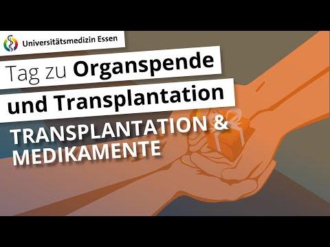 Transplantation und Medikamente