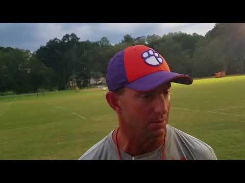 TigerNet: Dabo Swinney after practice - 8.21.17