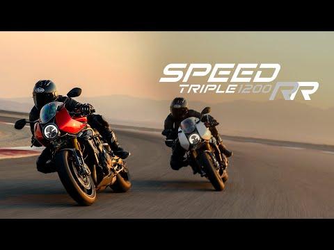 2022 Triumph Speed Triple 1200 RR in Belle Plaine, Minnesota - Video 2