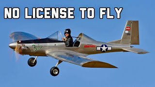 10 Aircraft you can FLY WITHOUT A LICENSE