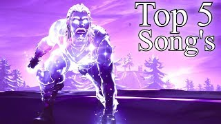Top 5 Songs To Use In Fortnite MontageVideos!