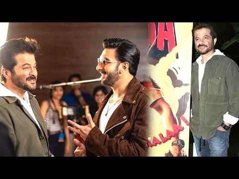 Anil Kapoor Promotes Ranveer Singh And Sara Ali Kh