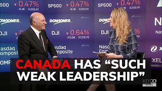 Canada is doomed under Trudeau and headed for a recession says Kevin O'Leary