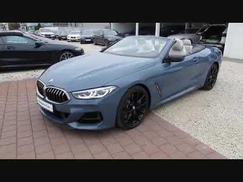 Vidéo BMW 850i xDr MCarbonPaket LaserL.B&W DAB DDC Neu151