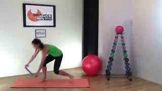 FREE Abs Workout - BARLATES BODY BLITZ Resistance Band Abs Workout by Linda Wooldridge