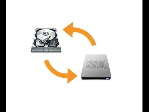Come trasferire i programmi e il sistema operativo dall'hard disk all'SSD