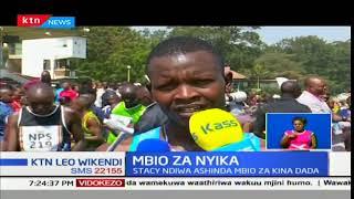 Geofrey Kamoror na Stacey Thiwa waibuka washindi wa mbio za nyika idara ya polisi