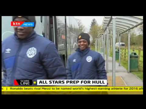 Scoreline: Sportpesa All Stars hosted to a luncheon and kitted by sponsors